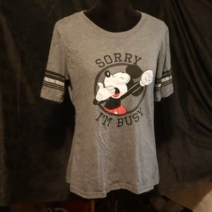 Mickey Mouse Busy being Busy Shirt